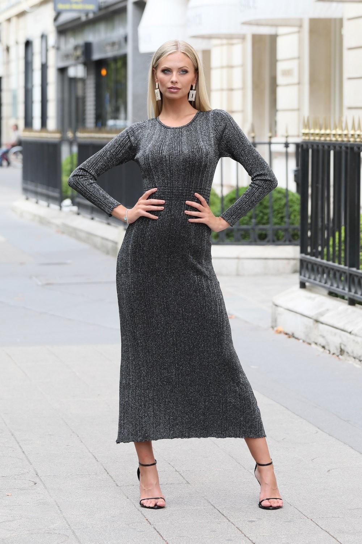 Robe Maxi De Soiree Noir